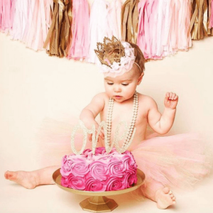 First Birthday Value Party Pack | Pink & Gold