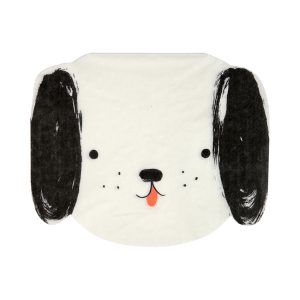 Black And White Dog Napkins