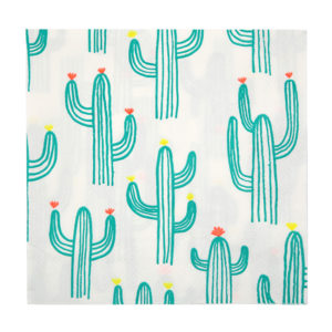Cactus Napkins Large