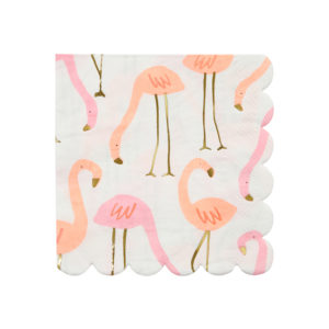 Flamingo Napkins Small