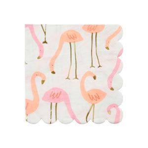 Flamingo Napkins Small