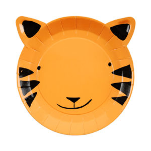 Go Wild Tiger Plates