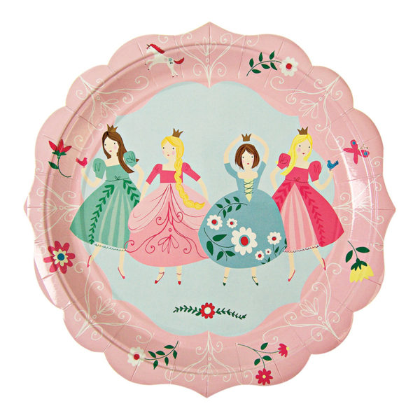 I'm a Princess Plates Large