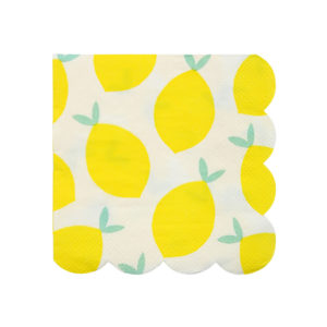 Lemon Napkins Small