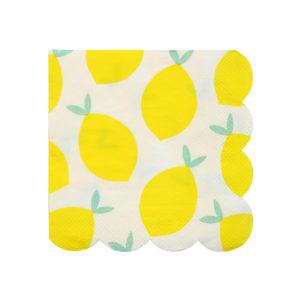 Lemon Napkins Small