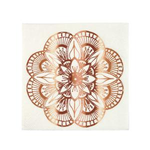 Mandala Pattern Napkins Small