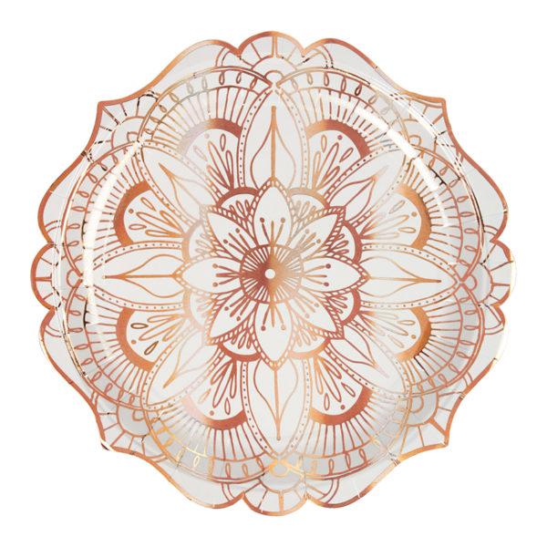 Mandala Pattern Plates Large