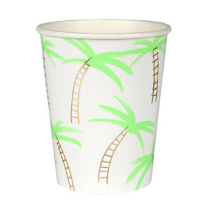 Palm Trees Cups