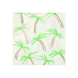 Palm Trees Napkins Small