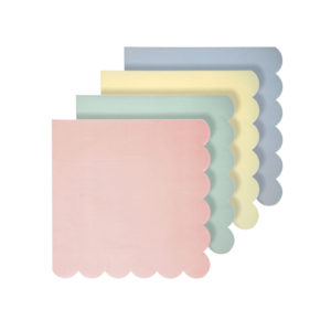 Pastel Assorted Napkins Small