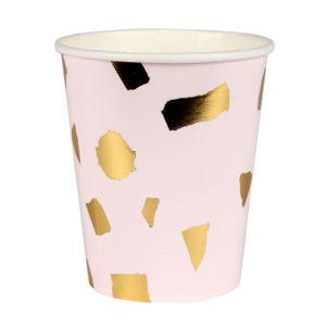 Pink Confetti Cups