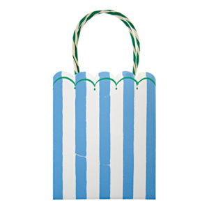 Toot Sweet Blue Stripe Party Bags