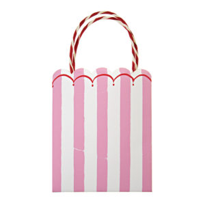 Toot Sweet Pink Stripe Party Bags