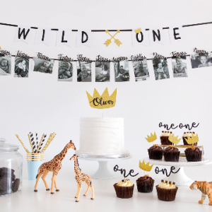 Wild One Birthday Boy Cake Topper