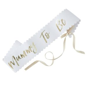 Baby Shower 'Mummy To Be' sash