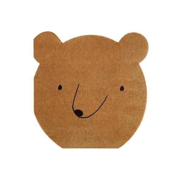 Bear Napkins Small
