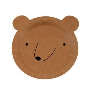 Bear Plates Small
