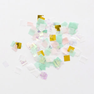 Boxed Iridescent Confetti