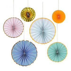 Bright Stripe Decorations