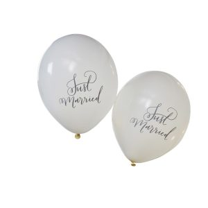 Buy Just Married Balloons