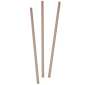 Buy Rose Gold Paper Straws