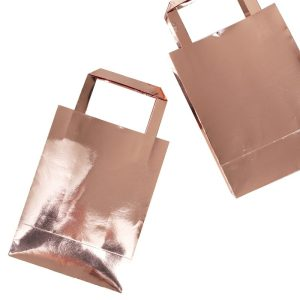 Buy Rose Gold party Bags