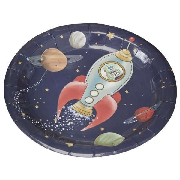 Buy Space Adventure Party Paper Plates