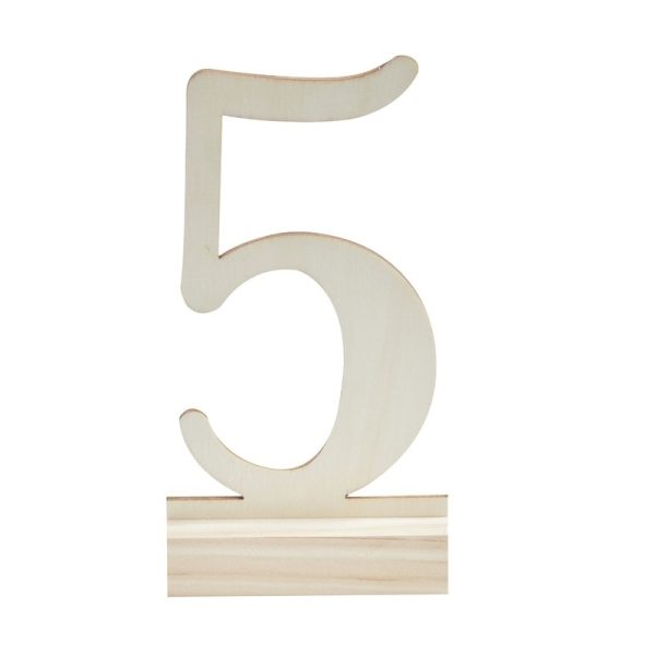 Buy Wooden Table Numbers 1-12