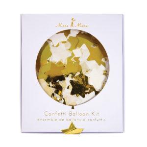 Confetti Gold Balloons