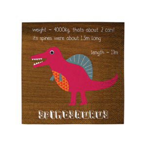 Dinosaur Party Napkins Small