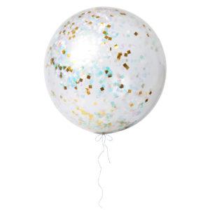 Giant Iridescent Balloons