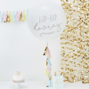 Large Hip Hip Hooray Balloons Kit