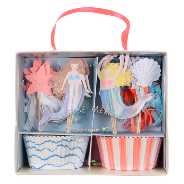 Let's Be Mermaids Cupcake Kit