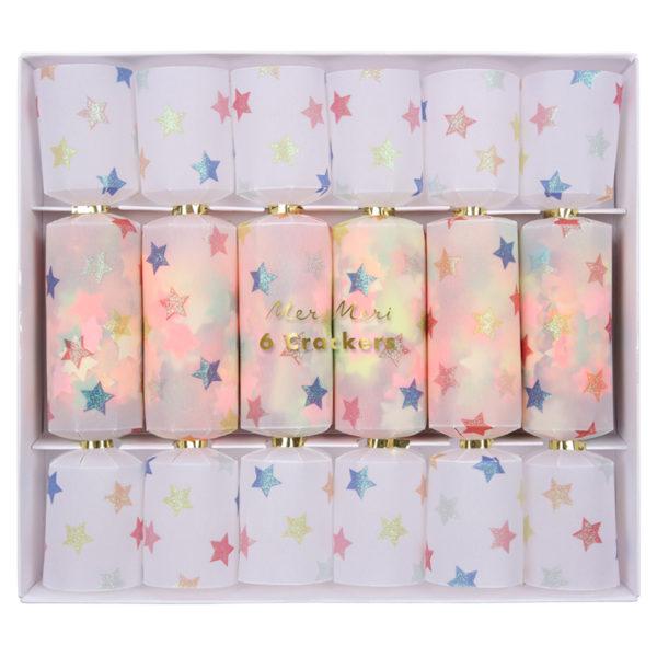 Multi Star Confetti Crackers