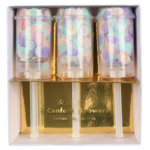 Pastel Confetti Throwers