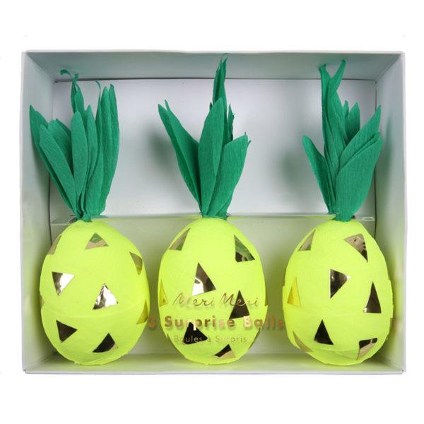 Pineapple Surprise Balls