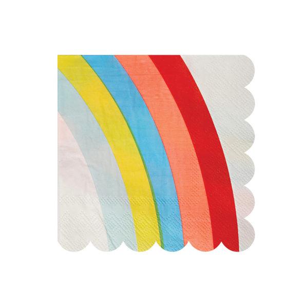 Rainbow Napkins Small