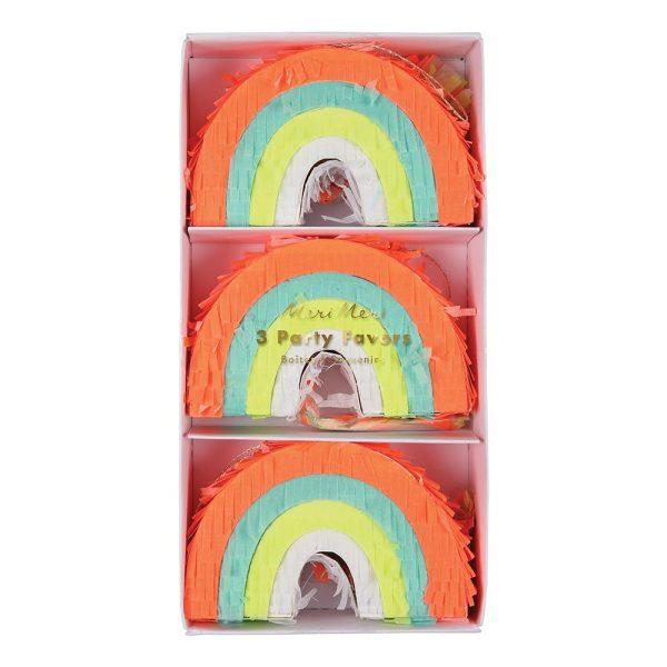 Rainbow Party Favor Piñatas