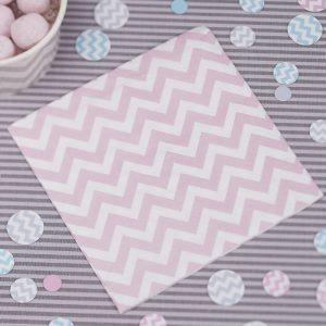 Small Paper Pink Napkinks