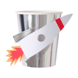 Space Rocket Party Cups
