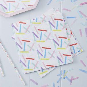 Sprinkles Paper Napkins