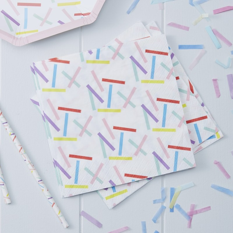 Sprinkles Paper Napkins | Pick and Mix