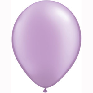 11 Inch Pastel Pearl Lavender Solid-colour Latex Balloon