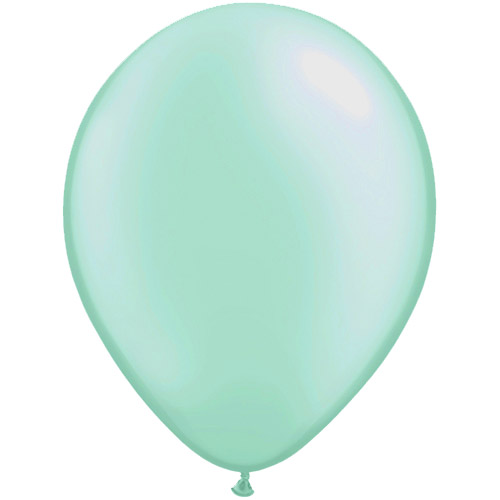 11 Inch Pastel Pearl Mint Green Solid-colour Latex Balloon