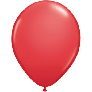 11 Inch Standard Red Latex Balloon