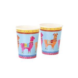Boho Llama Cups
