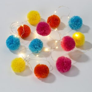 Buy Boho Pom Pom Lights