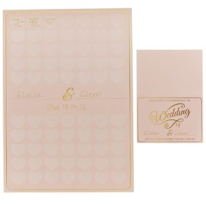 Buy Heart Guest Book A3 Poster