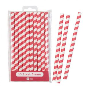 Buy Mix & Match Jumbo Red Straws
