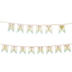 Buy Pastel Happy Birthday Garland